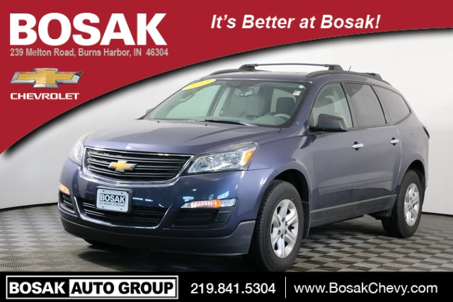 Pre Owned 2013 Chevrolet Traverse Ls 4d Sport Utility In Burns